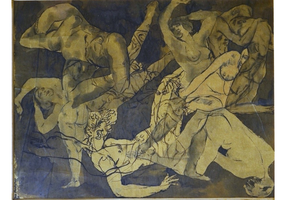 Jos Verdegem, Composition of nudes, 1930