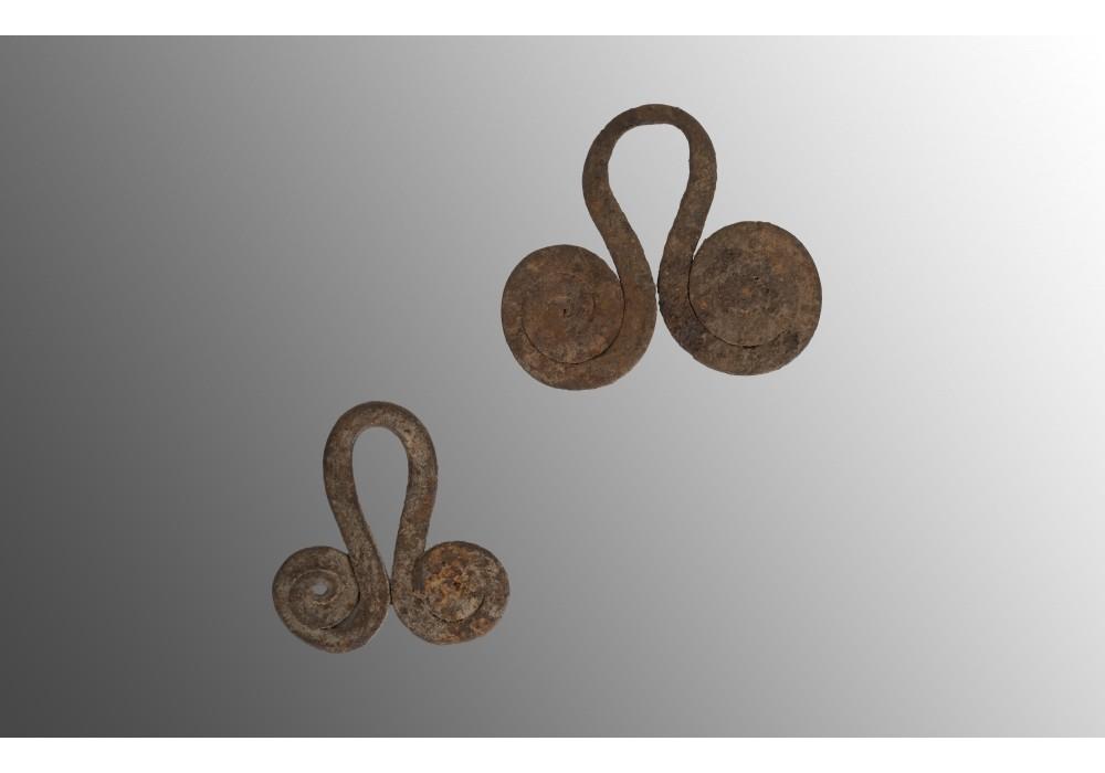 Lot de deux monnaies Mafa, Matakam