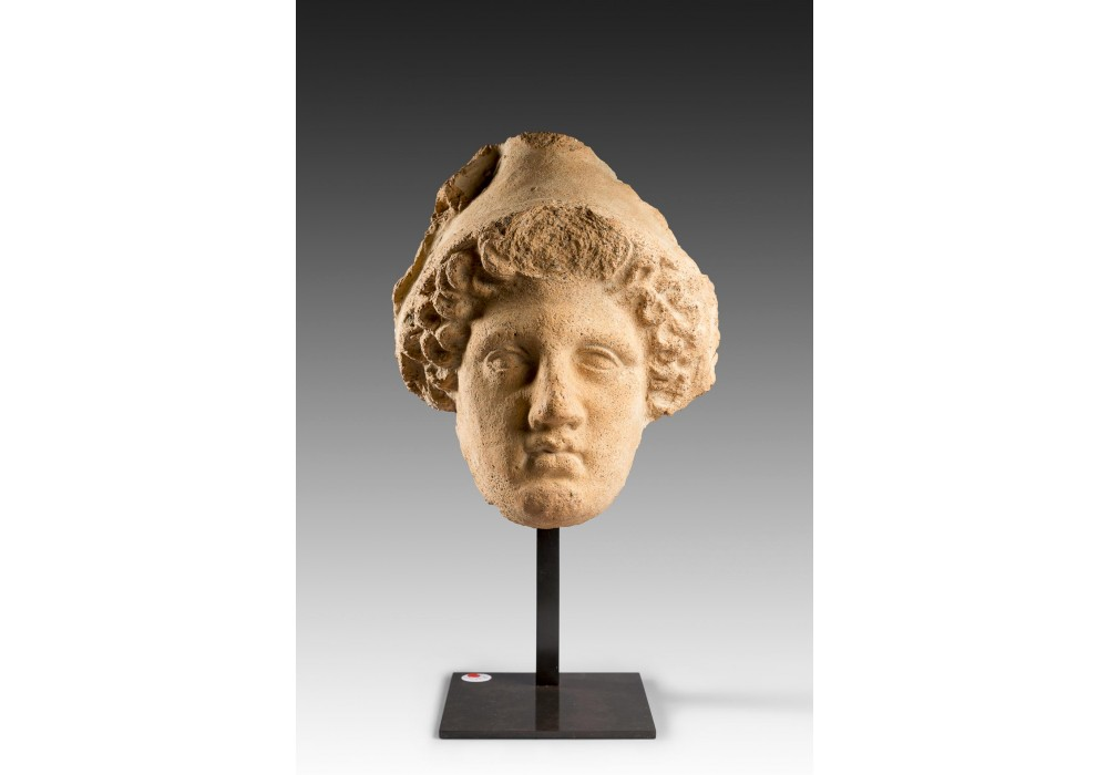 Hellenistic female head