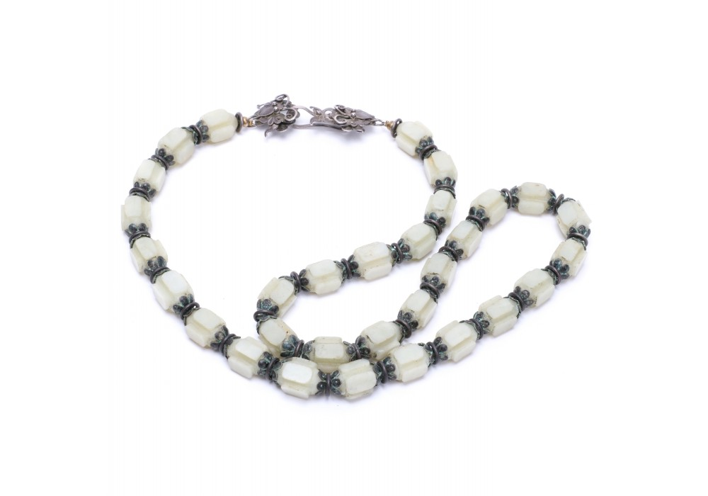 Jade necklace from China