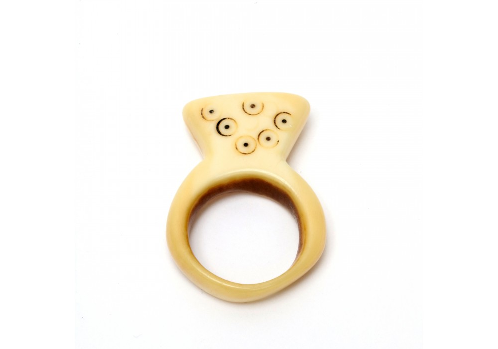 Dinka ivory ring