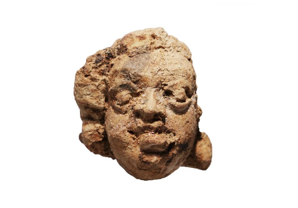 Gupta Head in terracotta