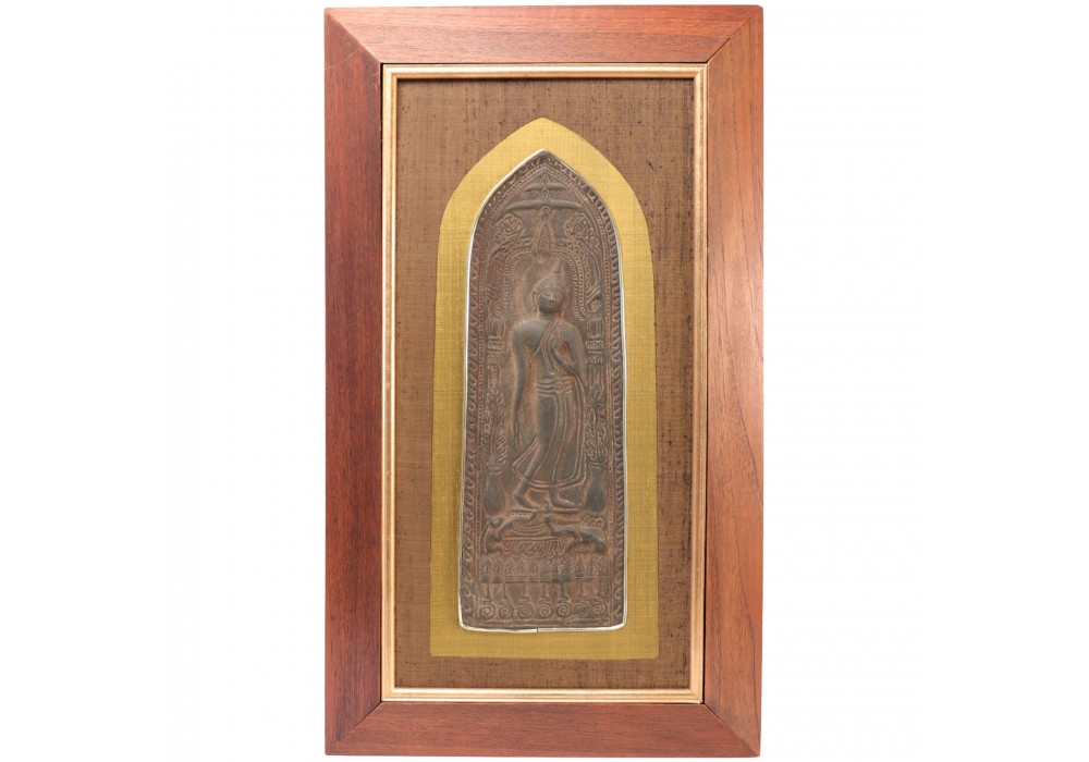 Thai Buddhist Votive Plaque