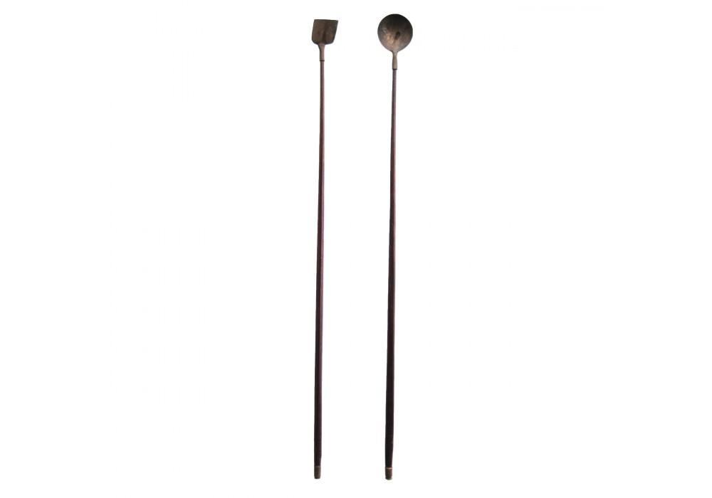 A pair of 'Opium' Spoons