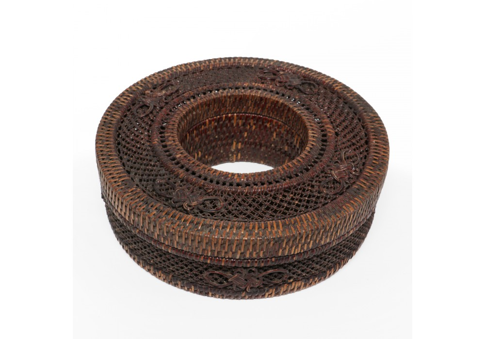 Woven donut shaped Jewel Box