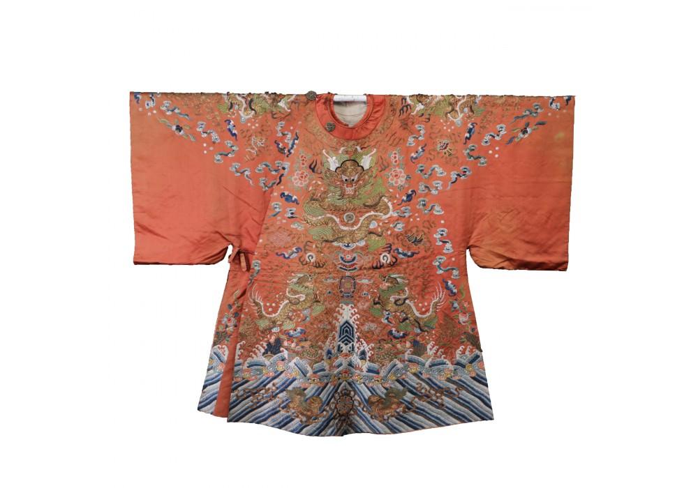 Chinese silk Theatre Robe