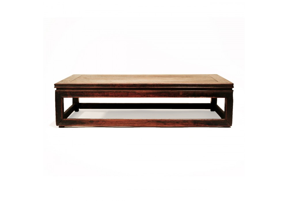 Miniature box-type Table in huali wood