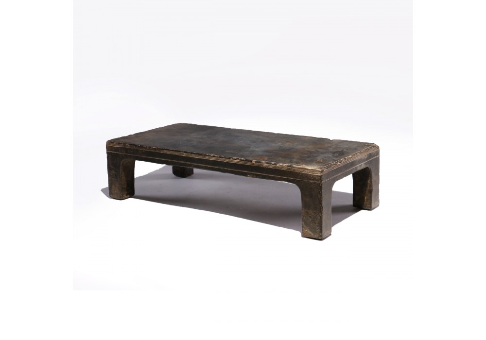 A Miniature 'simianping' Altar Table in stone