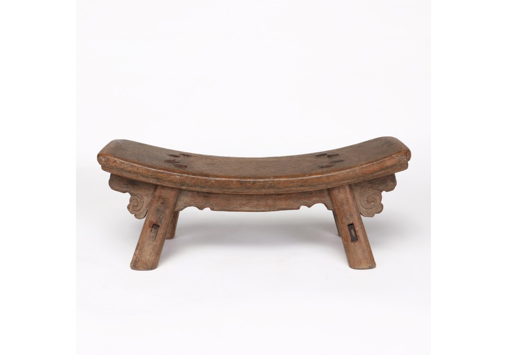 A Chinese wood Neck Rest