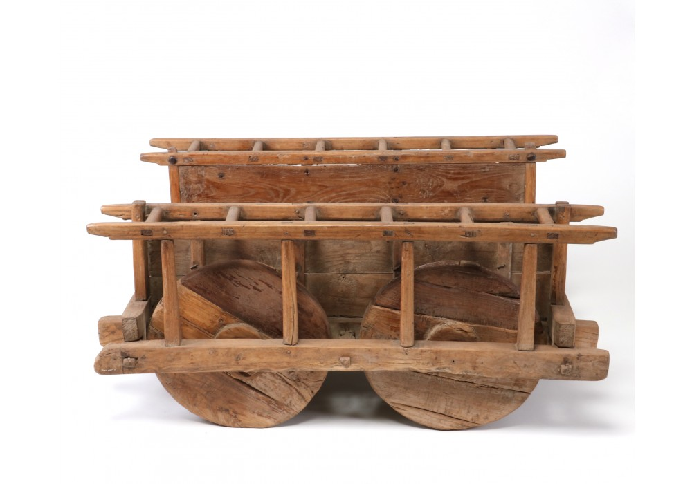 Wooden Cart on 4 wheels