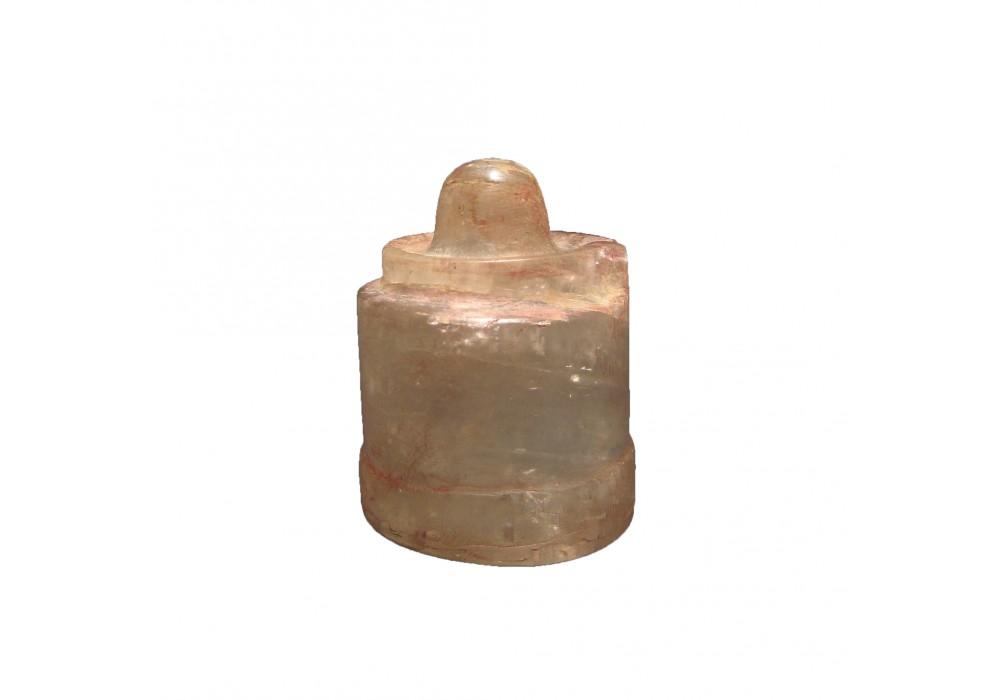An Angkorian 'Linga on a Yoni' in rock crystal