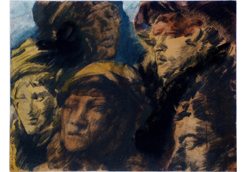 Jos Verdegem, Portraits, 1929