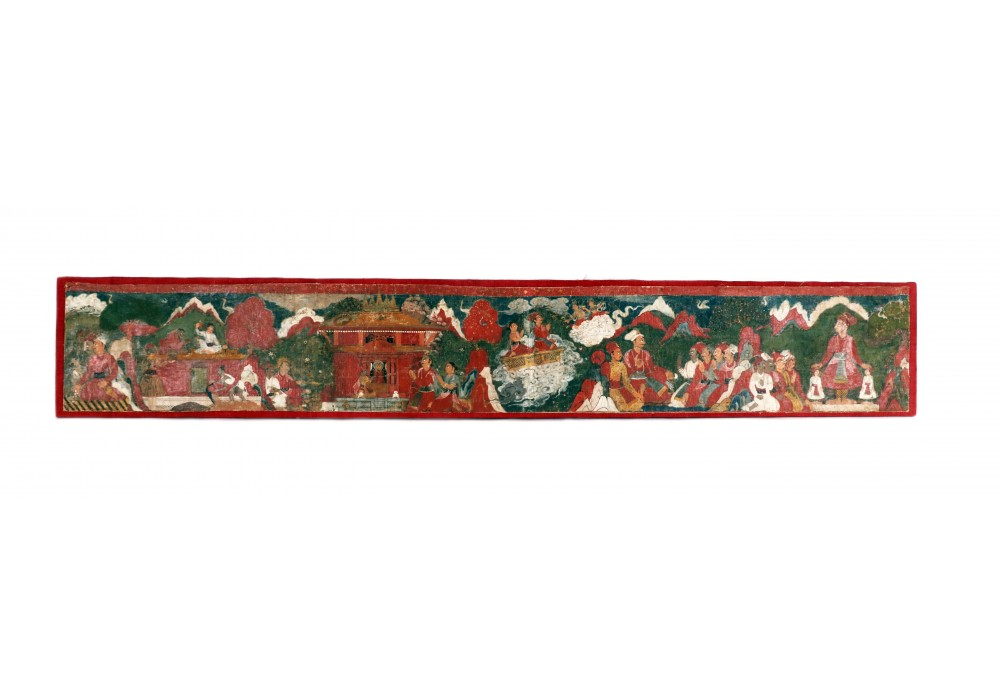 Nepalese scroll