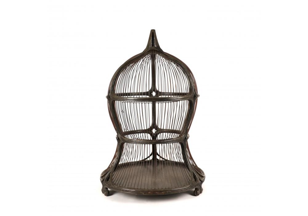 Art Nouveau bird cage