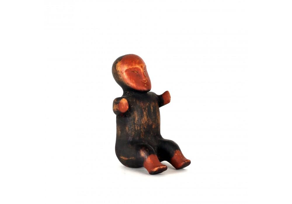 Wooden Yupik Shaman's figure