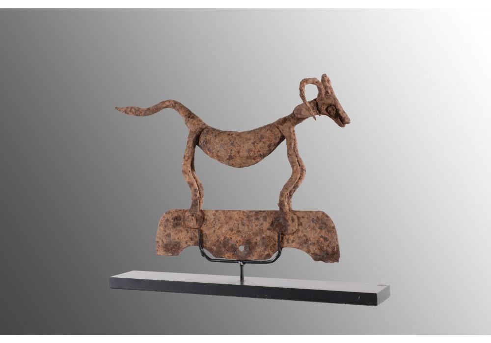 Elément d'asen représentant une chèvre