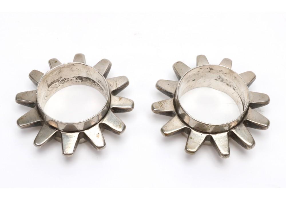 Pair of silver bracelet, Aït Atta, Morocco