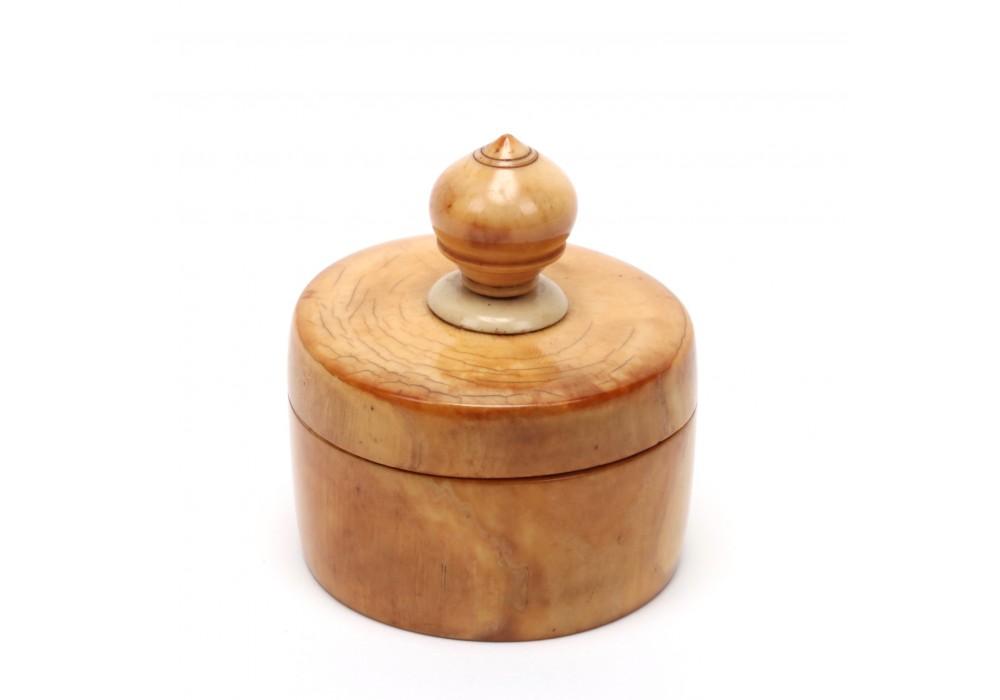 Thailand ivory opium box