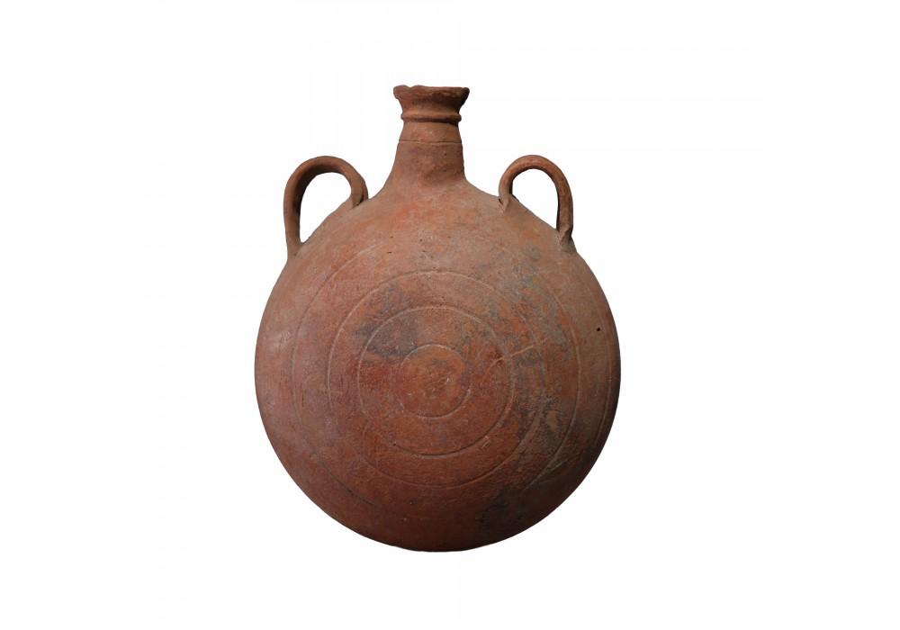 Gourde Romaine en terre cuite