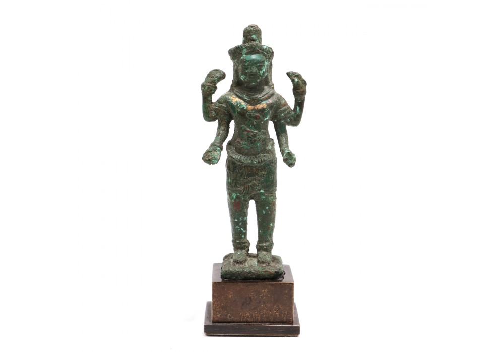 Cambodian Bronze depicting Lokeshvara