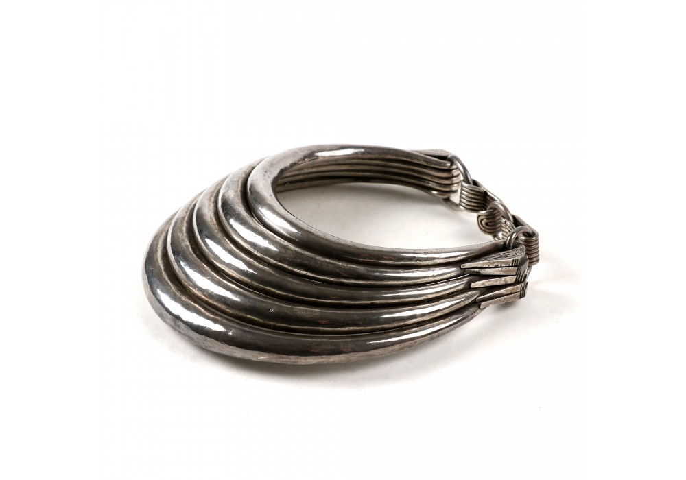 Miao silver torque