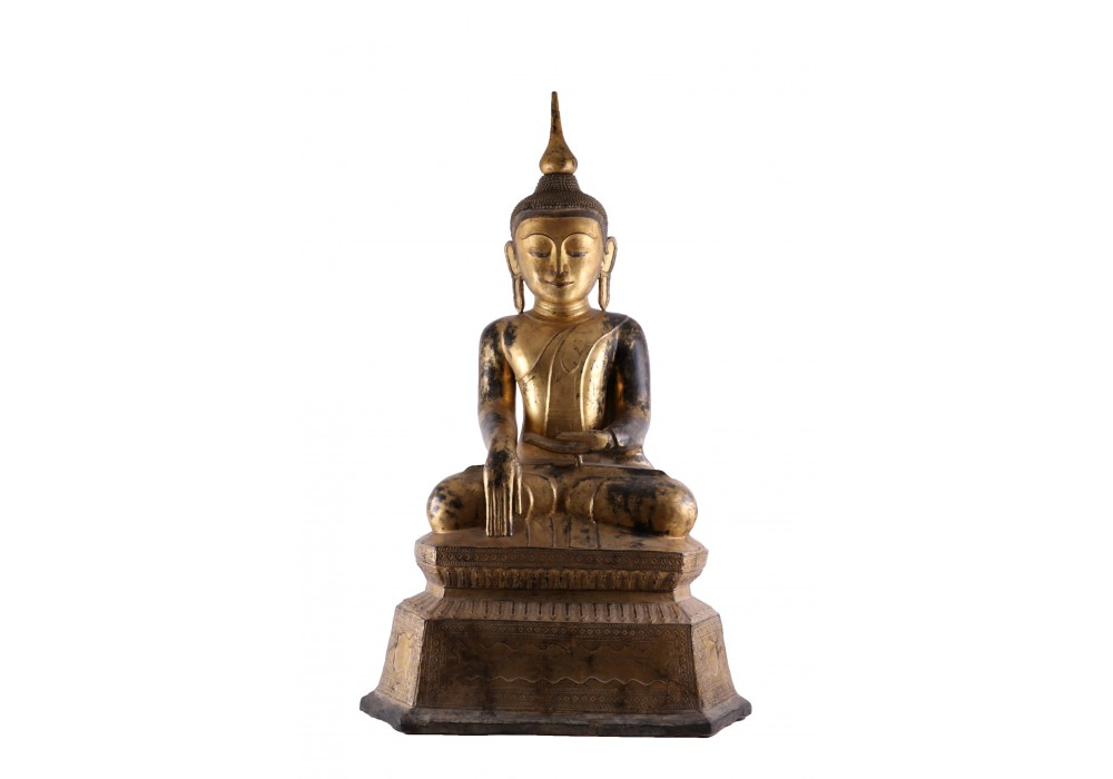 Burmese lacquer Buddha
