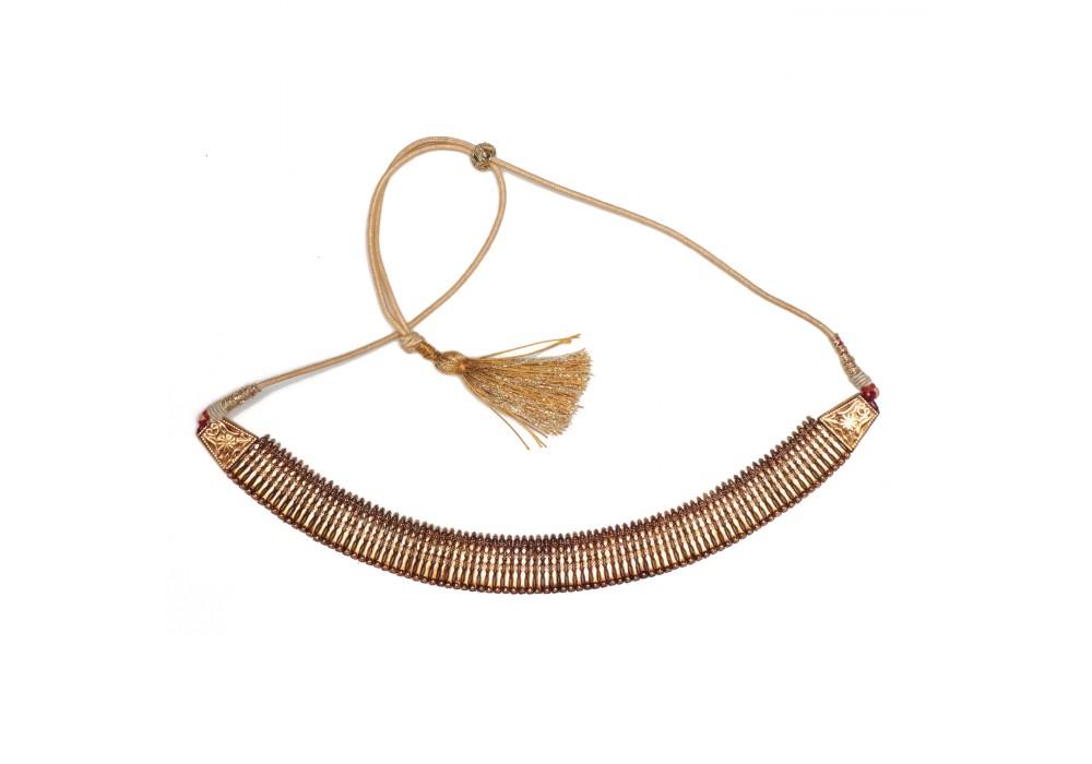 Indian gold Choker