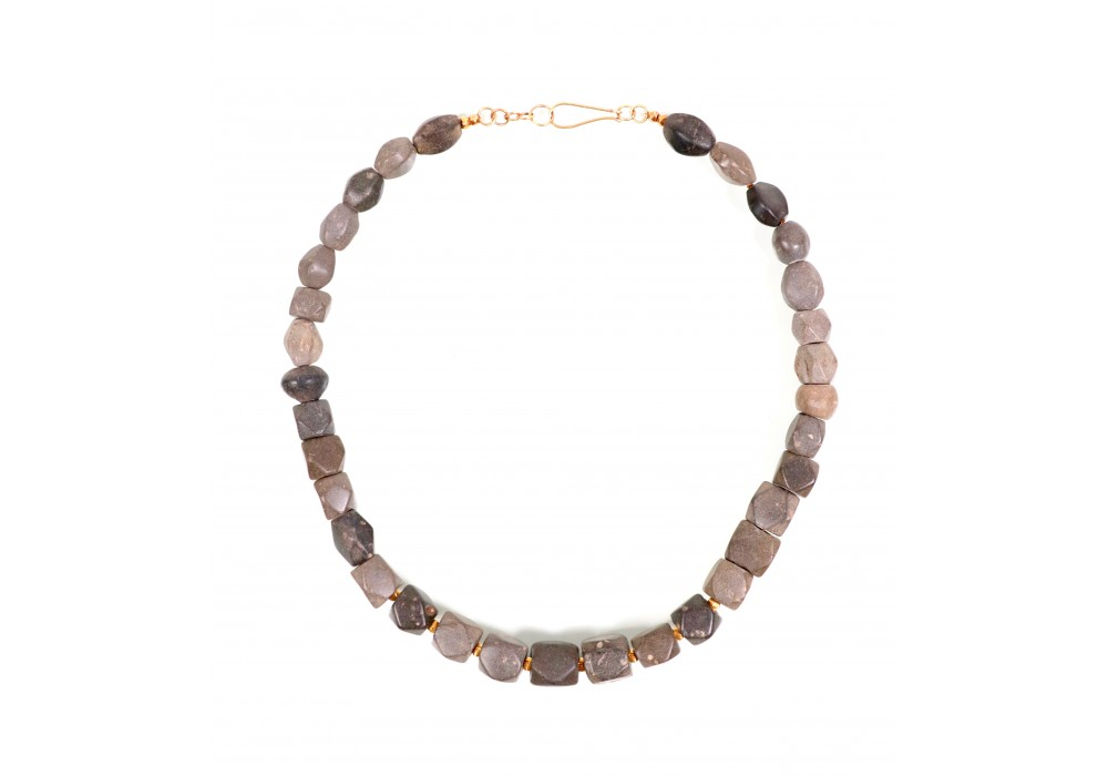 Jasper beads necklace