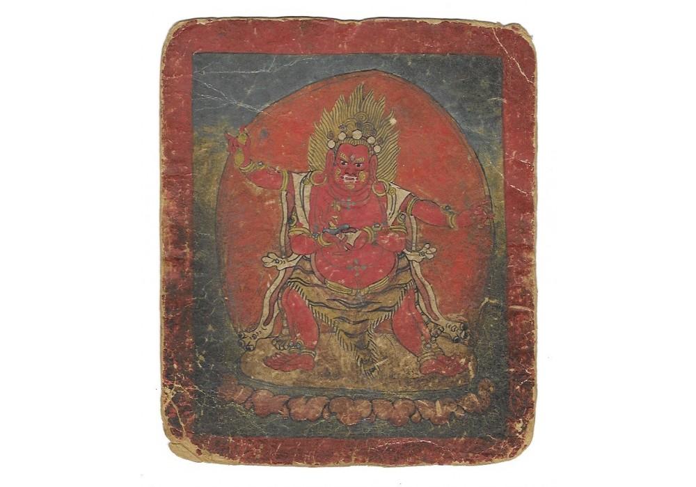 Tibetan initiation card (tsakli)