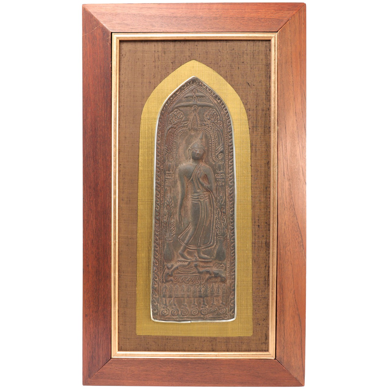 Peacock /'DREAM/' Plaque Wooden Large