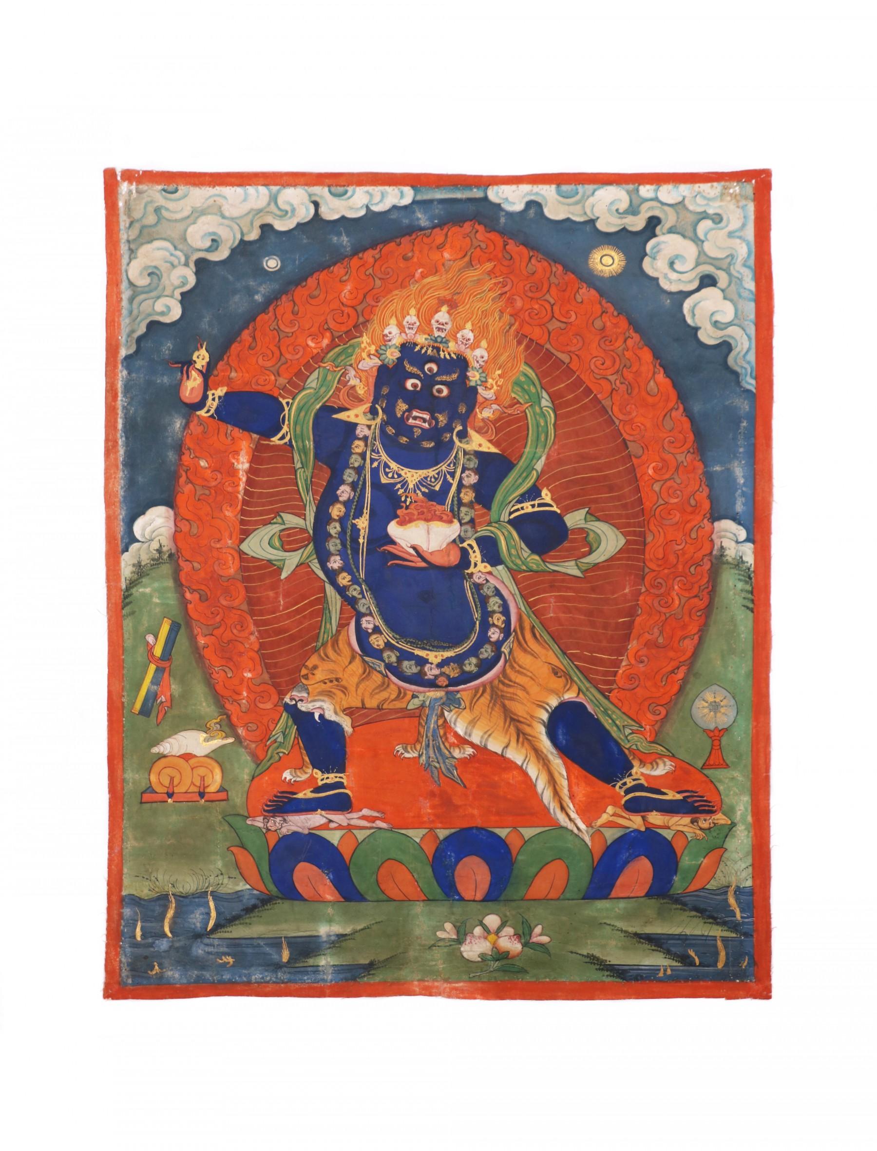 Painting Depicting Vajrapani Tibet