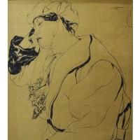 Jos Verdegem, Study of a figure, 1929