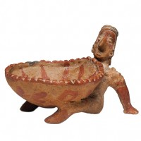 Jalisco Reclining Figure with Large Bowl