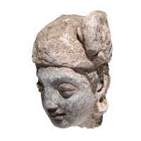 Gandhara Hadda-styled Head in stucco