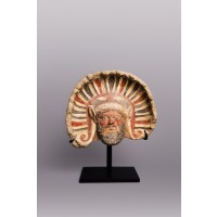 Etruscan antefix (roof tile)