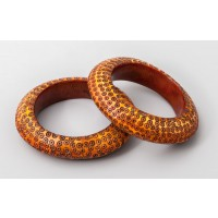 Ivory bracelets from Nigeria