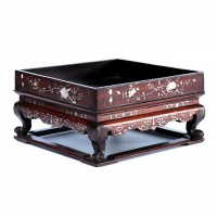 Antique Vietnamese Shell Inlaid Tea Tray