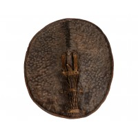 Leather Cameroon Shield