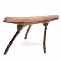 Headrest/stool from Kenya