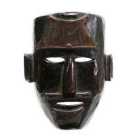 Nepalese wooden mask