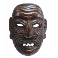 Arunachal Pradesh wooden mask