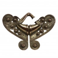 Tairona gold Nose Buckle (Nariguera)