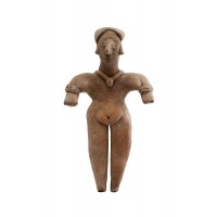Colima female figure in terracotta