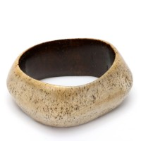Bone bracelet from DR Congo