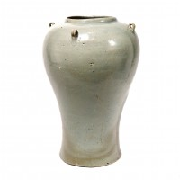Korean celadon baluster jar