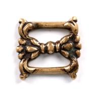 Tibetan Sutra Clasp in bronze