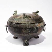 Bronze Ding vessel
