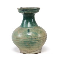 Small terracotta 'Hu' Vessel