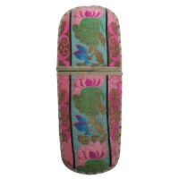 Eyeglass Case in 'kesi' needlework