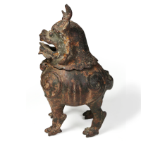 Chinese bronze Incense Burner in the shape of a Qilin